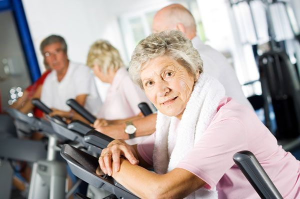Staying healthy for older women