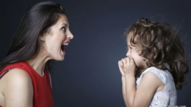 Effects of yelling on children