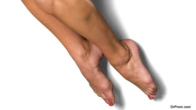 Home care for sore feet