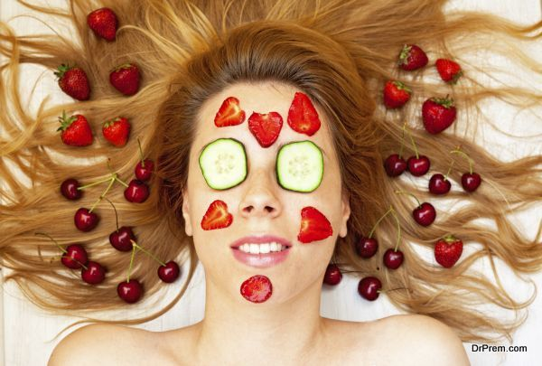 Photo of Facials from natural and edible ingredients for a beautiful skin