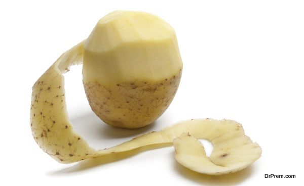 peel potato