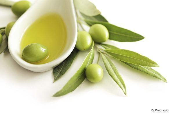 olive oil massage