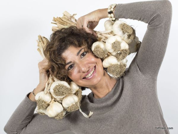 garlic intake