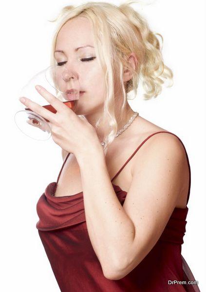 drinking brandy