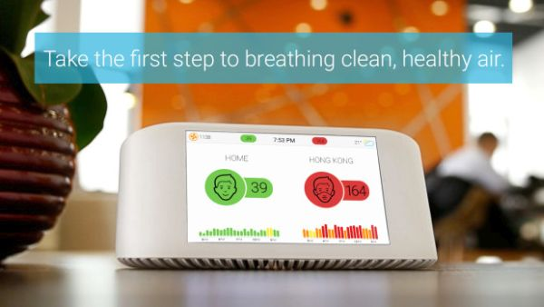 Photo of Bring home Air Visual Node to improve indoor air quality