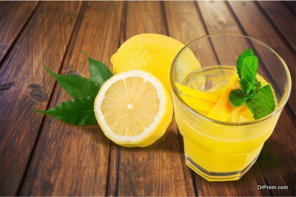 Include lemon in your diet