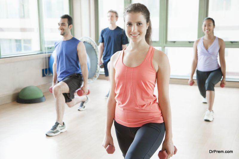group fitness-training