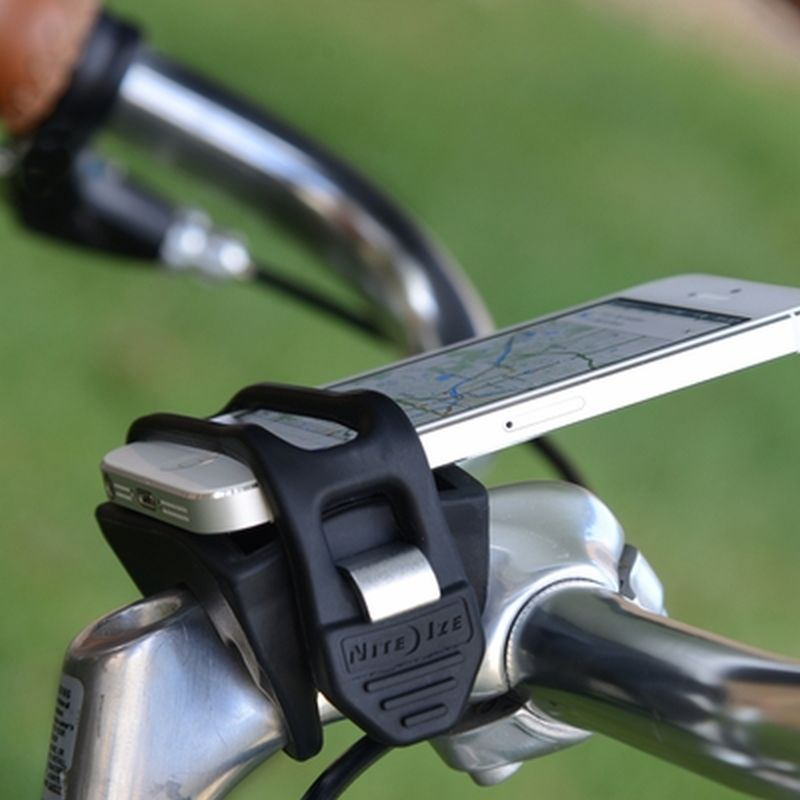 Bike mount phone bar