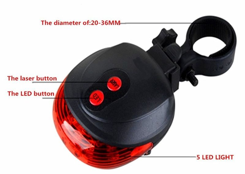 led laser bike light