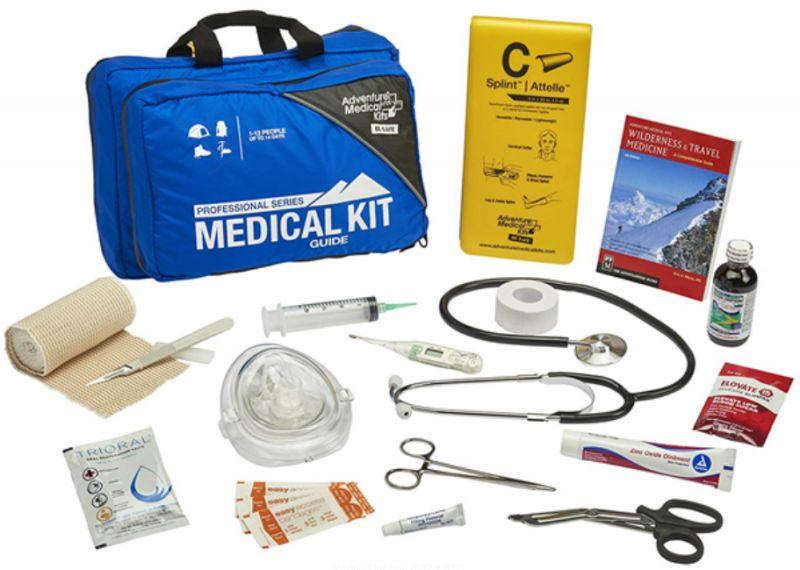 Critical first aid equipment