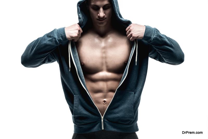 bulked-up bodybuilder look